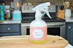 Homemade Oven Cleaning Spray Tutorial