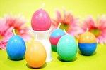 DIY Egg-Shaped Candles