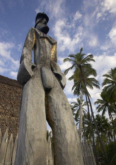 Pu'uhonua o Honaunau  (City of Refuge), Landmark, Big Island, Hawaii