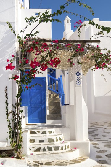 """Traditional greek house on Sifnos island, Greece"""