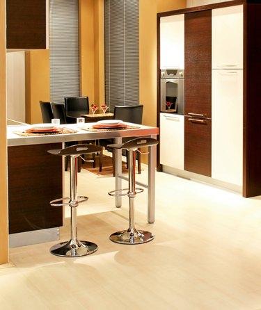 Brown kitchen vertical