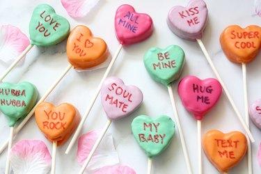 sweethearts cake pops