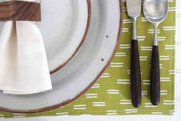 Why use plain old mats to protect your wood when you can make every occasion special with custom made placemats.