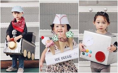 3 Easy DIY Cardboard Box Kids' Costume Ideas