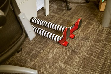 witch legs in office