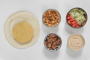 Vegan Crunchwrap ingredients
