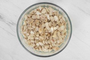 Soak cashews overnight