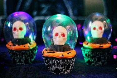 crystal ball cupcakes