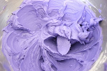 purple frosting