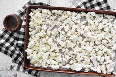 Roast cauliflower florets