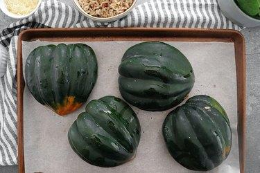 Prepare acorn squash