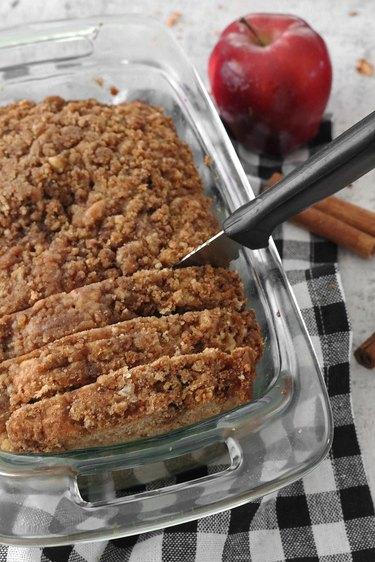 Homemade apple pie bread