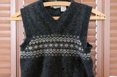 Felted-Wool-Coffee-Sleeve-Before
