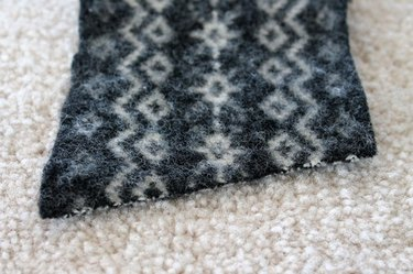 Felted-Wool-Coffee-Sleeve-cut-end-at-angle-