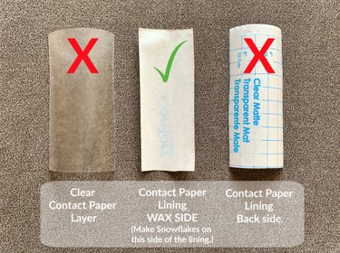 Contact Paper Lining