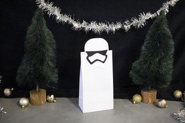 diy stormtrooper gift bag clip