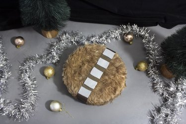 Chewbacca cookie tin