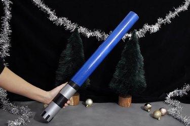Lightsaber gift tube