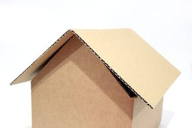 slanted roof