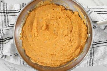 Combine pumpkin sauce ingredients
