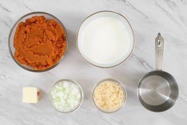Pumpkin cream sauce ingredients
