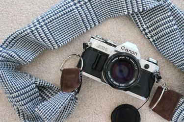 How to Make a Winter Scarf Camera Strap
