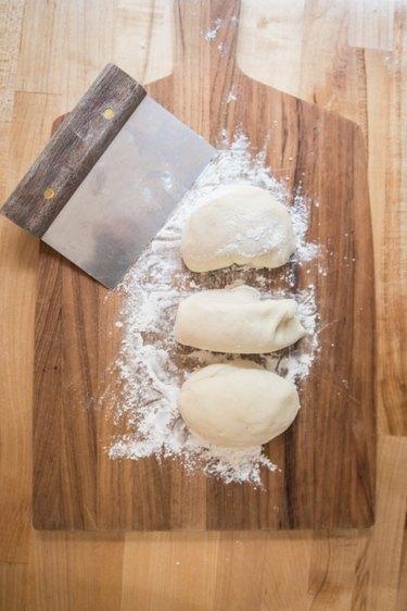 Pizza Dough Dinner Rolls Recipe