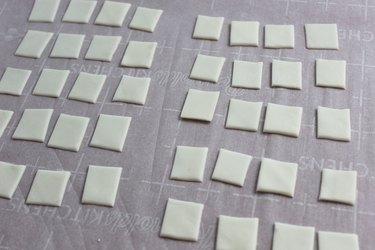 fondant squares