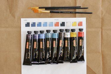 Give your brain a break and create some beautiful art with a paint by number you made yourself.