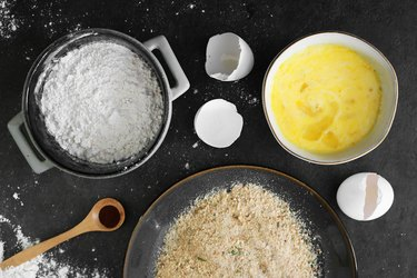 Prepare batter ingredients