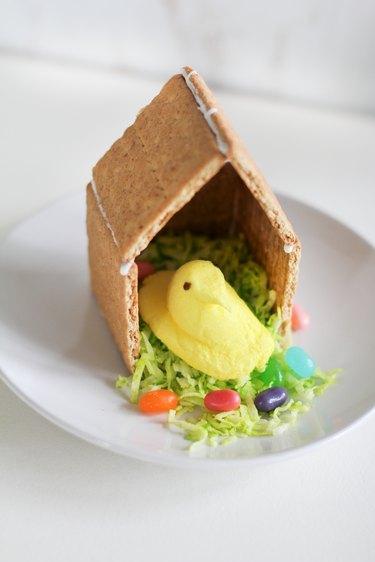 Peeps bird house kids treat
