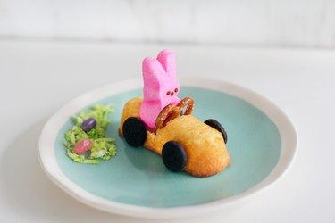 Bunny race car Peeps kids treat