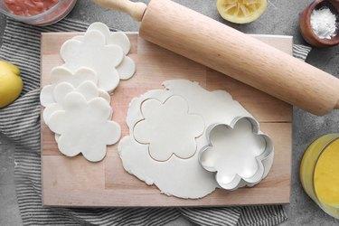Roll leftover pie dough