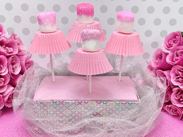 DIY Marshmallow Tutu Treat Pops