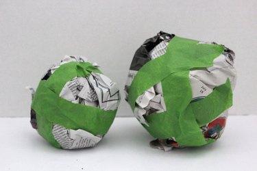 smaller sphere