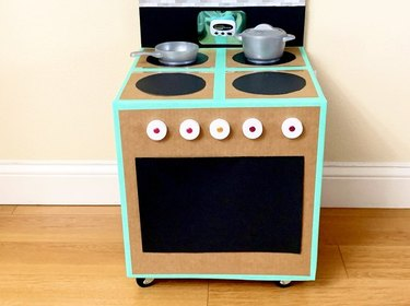 Cardboard Box Play Appliances