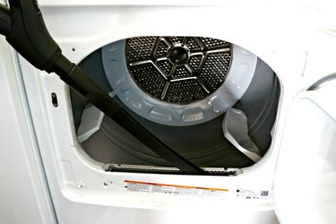 Clean lint out of your dryer