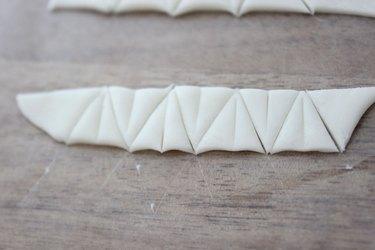 fondant triangles