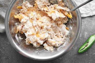 Stir filling ingredients