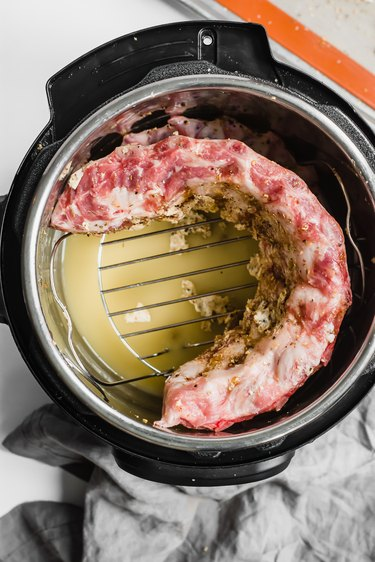 cook ribs in instant pot