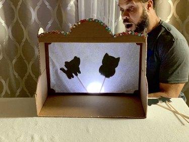 DIY Shadow Puppet Theater Box