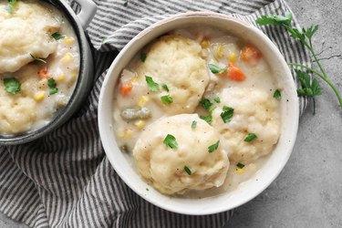 Easy Bisquick dumplings recipe