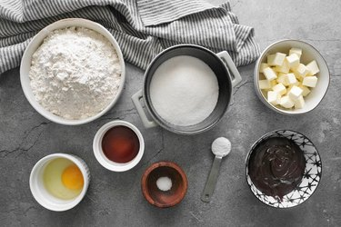 Ingredients for hamentashen recipe