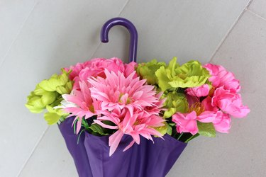 flowers in flaps