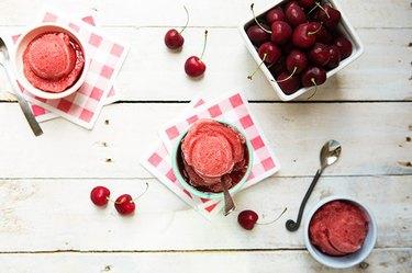 Cherry ice