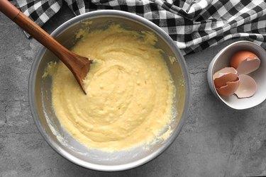 Mix cornbread batter