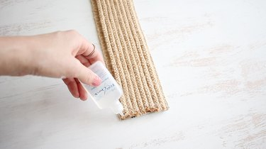 Coating ends of rope with seam sealant
