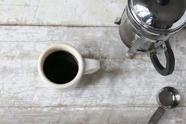 Espresso Made With a French Press