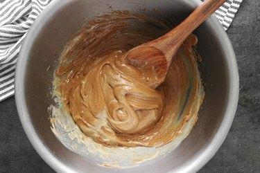Add lemon juice and mix