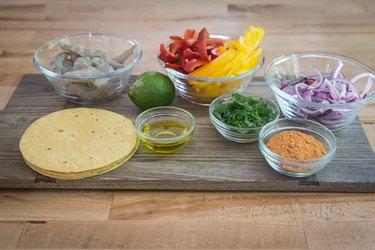 Easy Sheet Pan Shrimp Fajitas Recipe